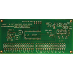 16 Step Analog Sequencer - Analog PCB